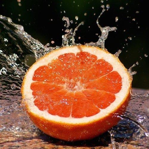 Organic Grapefruit Essential Oil White
