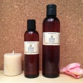 Be Calm Massage Oil Blend - Artisan Aromatics