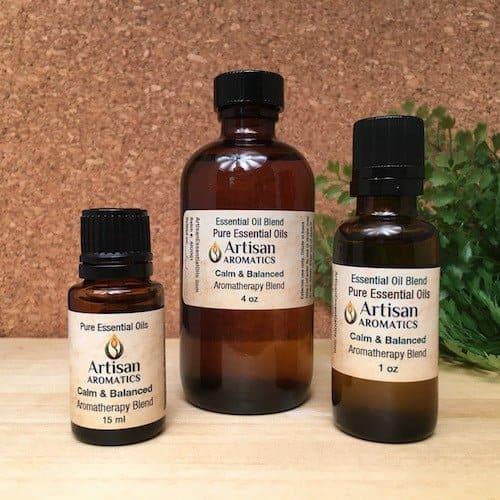 Calm & Balanced Essential Oil Blend - Artisan Aromatics