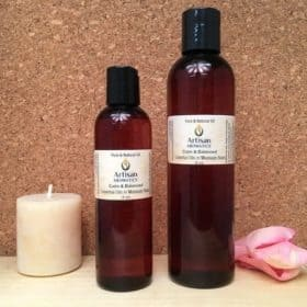 Calm & Balanced Massage Oil Blend - Artisan Aromatics