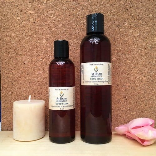 Sleepy Time Massage Oil Blend - Artisan Aromatics