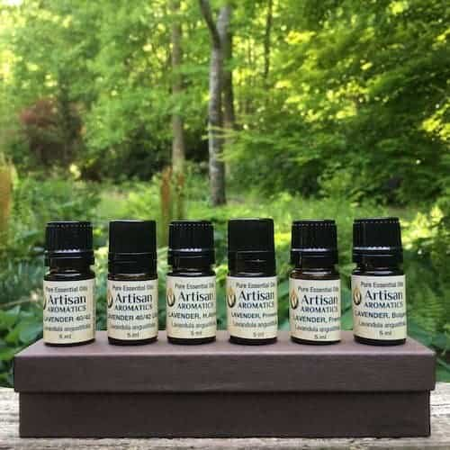 Lavender Essential Oil Sample Kit - Artisan Aromatics
