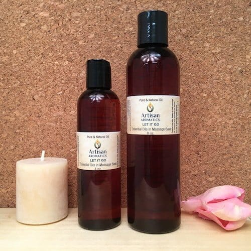 Let It Go Massage Oil Blend - Artisan Aromatics