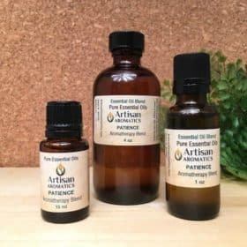 Patience Aromatherapy Blend / Patience Essential Oil Blend - Artisan Aromatics
