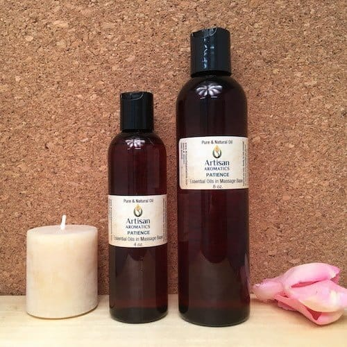 Patience Massage Oil Blend - Artisan Aromatics
