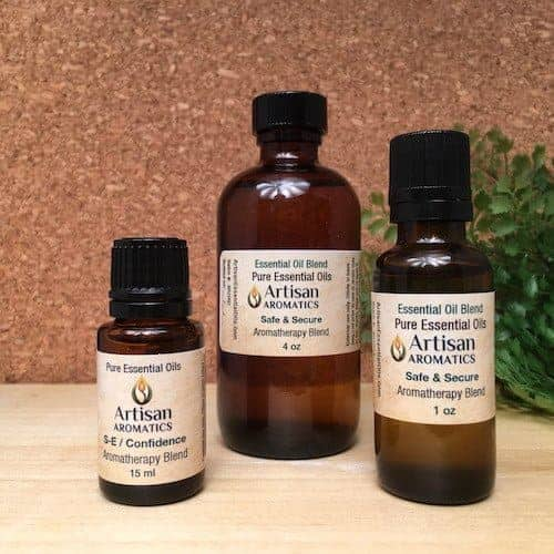 Safe & Secure Aromatherapy Blend / Safe & Secure Essential Oil Blend - Artisan Aromatics