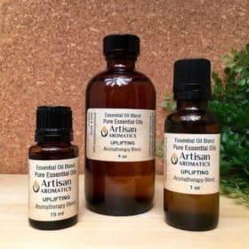 Uplifting Aromatherapy Blend / Uplifting Essential Oil Blend - Artisan Aromatics