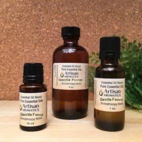 gentle focus essential oil blend