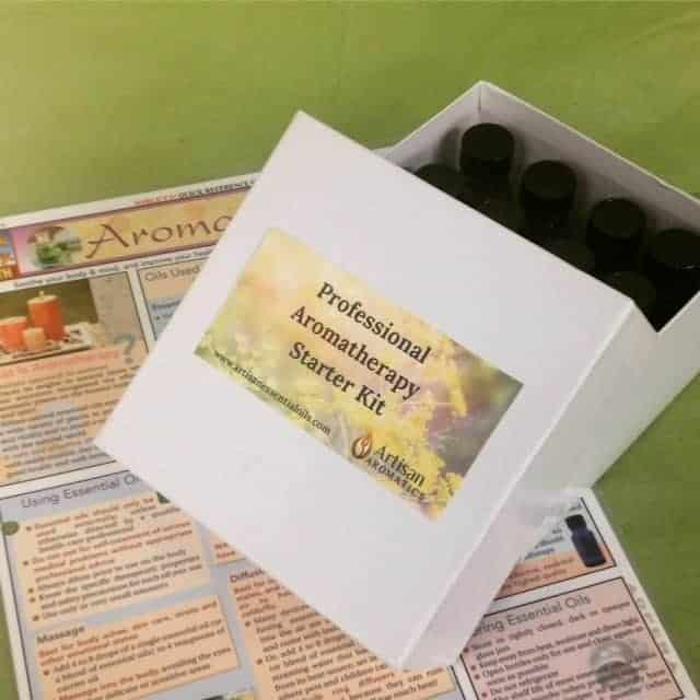 Professional Aromatherapy Starter Kit from Artisan Aromatics