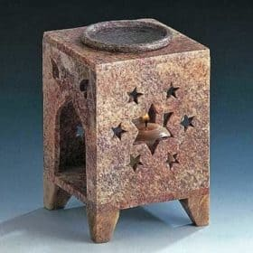 Soapstone-candle-diffuser | tea-candle diffuser
