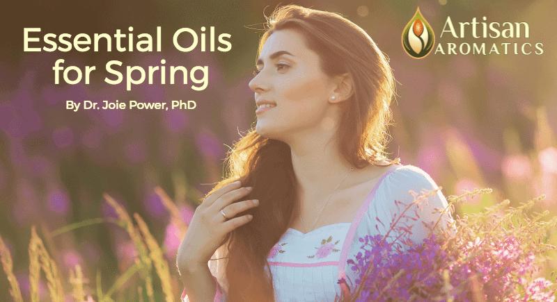 Spring aromatherapy header