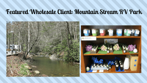 Featured Wholesale Mountain Stream RV Park - Artisan Aromatics