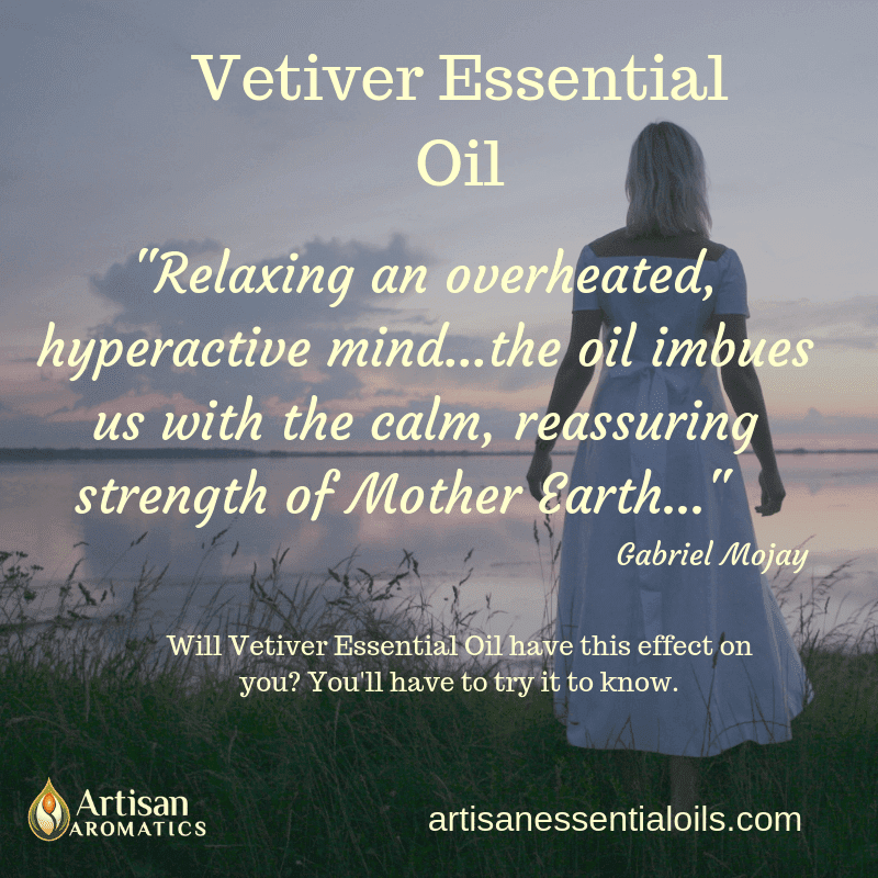 Vetiver Essential Oil from Artisan Aromatics