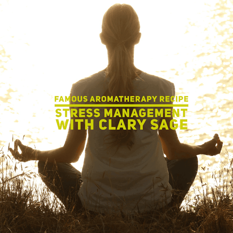 Essential Oil Stress Management Recipe
