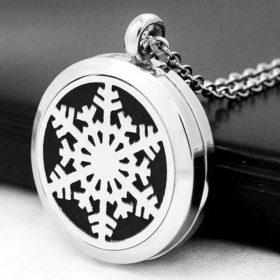 Stainless-Steel_Essential_Oil_Locket-Snowflake-C-S
